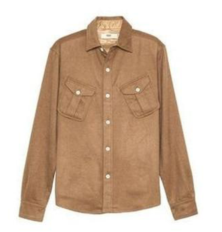 Cotton Officer Tan Shirt