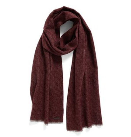 Mayfair Dark Red Scarf