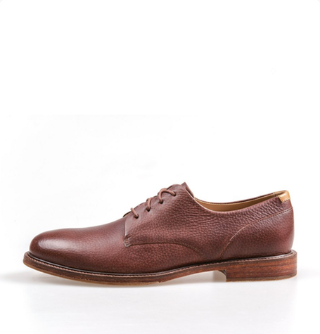 William Ambra Leather Derby Shoes
