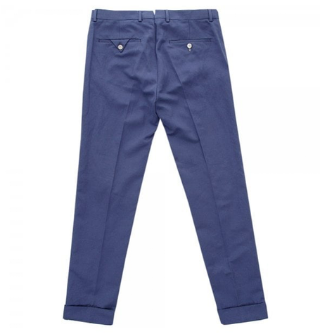 Summer Navy Chinos