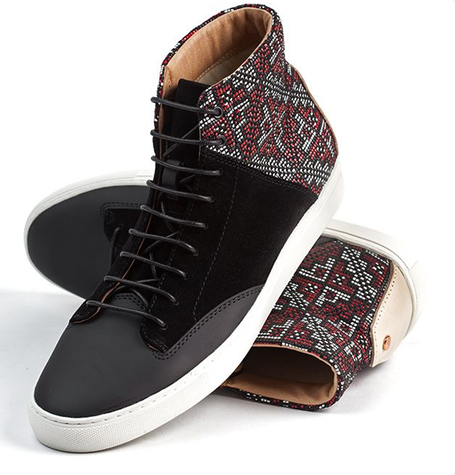 Porter Red and Black Shoe