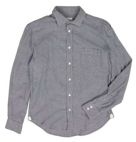 Blue Dogtooth Shirt
