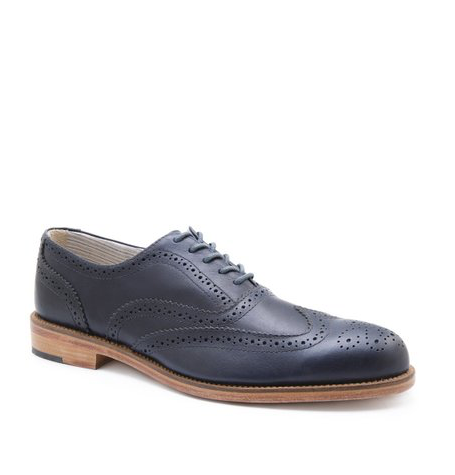 Charlie Dark Blue Brogues