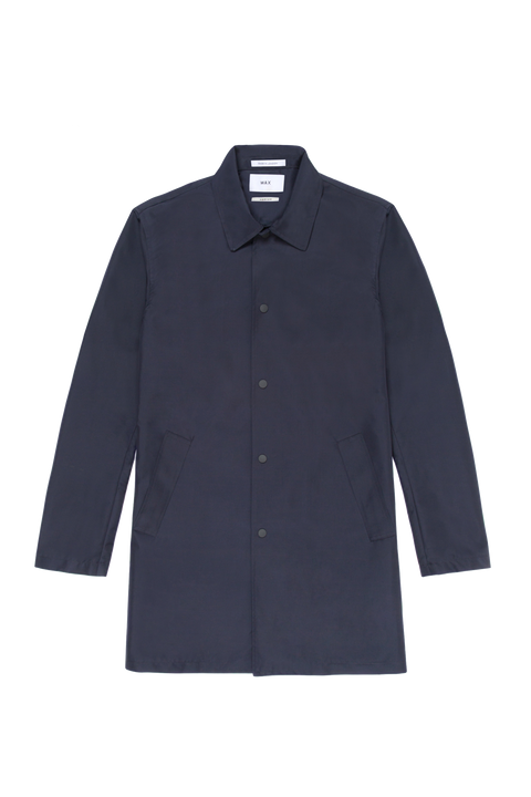 Hinkley Rain Mac Navy