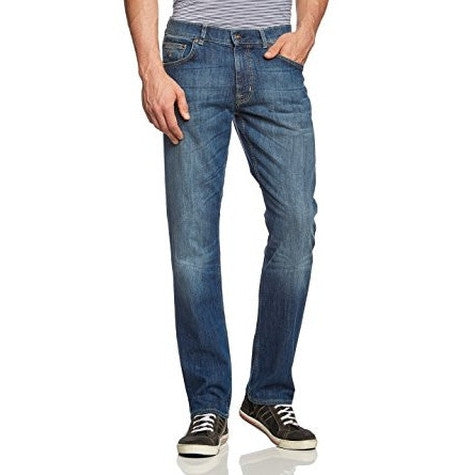 Gant Mid Blue worn in Jeans