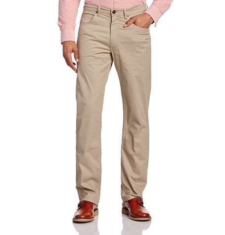 Lee Beige Brooklyn Straight Chino