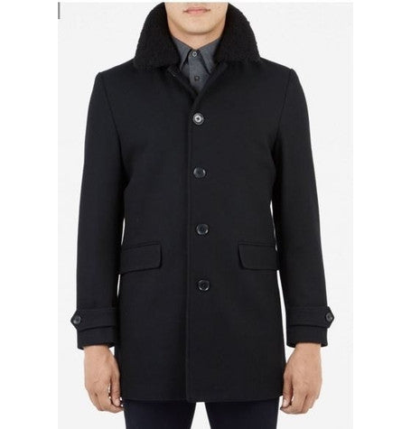 Detachable Shearling Coat