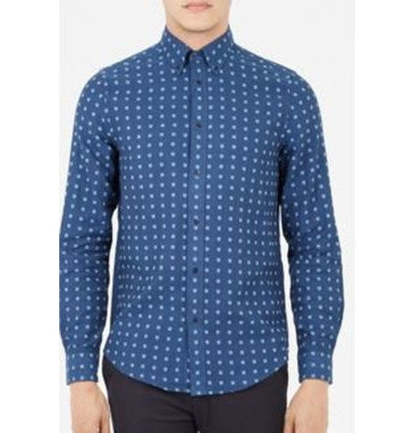 Double Cloth Indigo Shirt