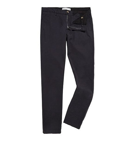 Oxford Navy Marl Cotton Trousers