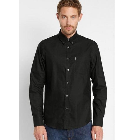 Classic Oxford Jet Black Shirt
