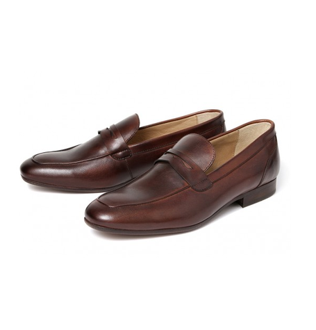 Reyes Calf Brown Shoes