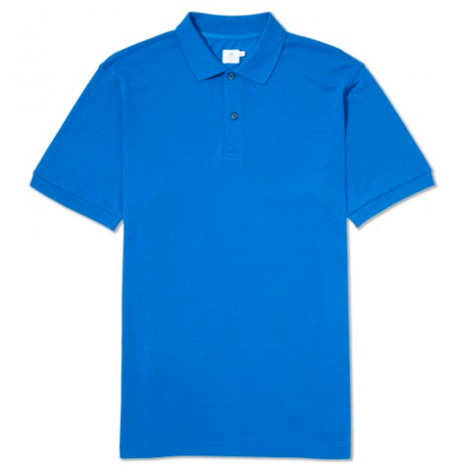 Cornflower Blue Piquet Polo