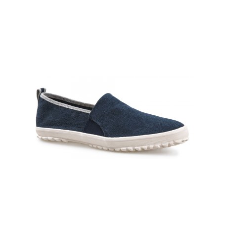 Navy/Blue Slip On Shoe
