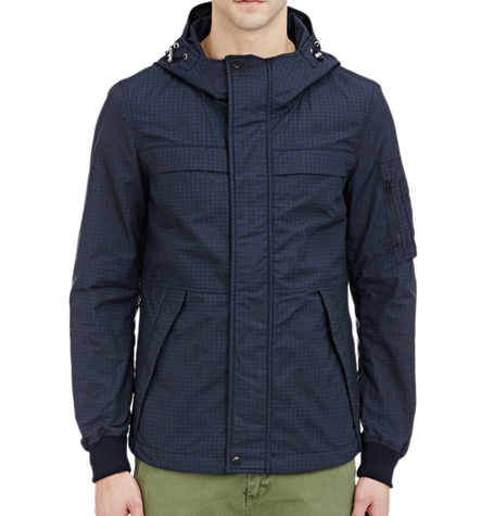Navy Parka Jacket