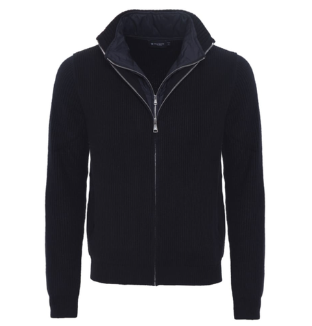 Navy zip jumper