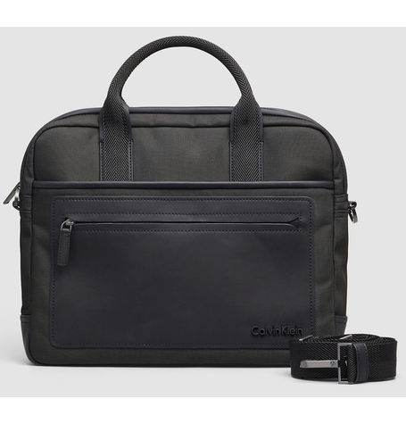 Zone Black Laptop Bag