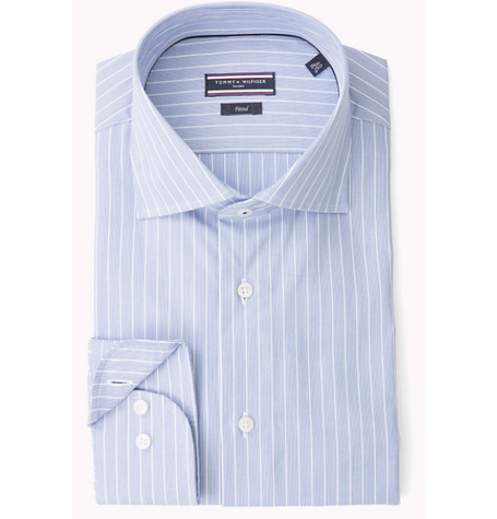 Light Blue Stripe Lux Shirt