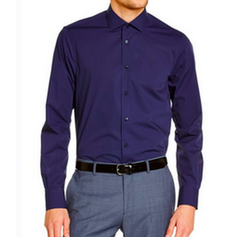 Formal Navy Shirt