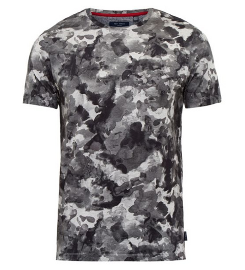 Charcoal Watercolour Print T-shirt