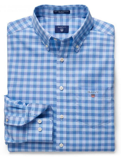 Nautical Blue Easy Care Comfort Shirt