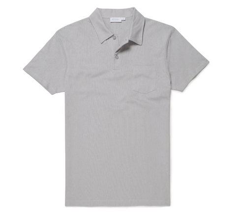 Grey Riviera Polo