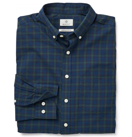 Bottle Tartan Twill Shirt
