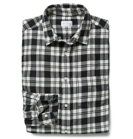 Black Brooklyn Twill Shirt