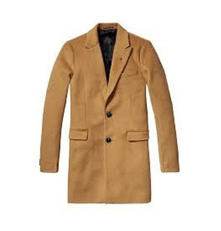 Classic Tan Long Wool Coat