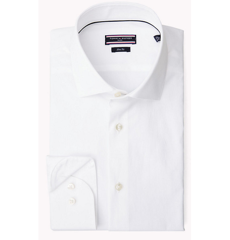 Jak White Essential Fitted Shirt