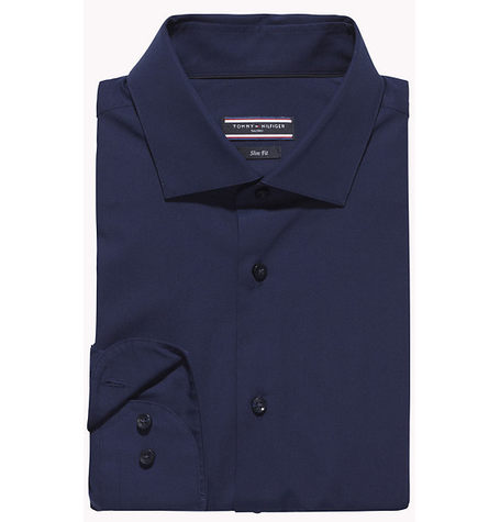 Navy Fitted Shirt