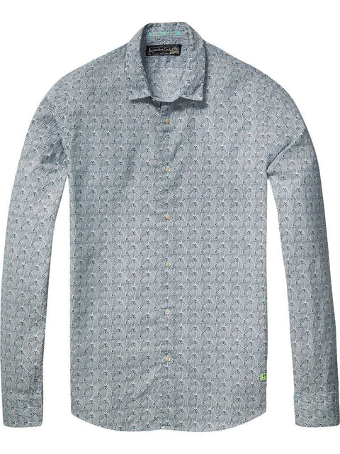 Longsleeve Shirt with all over print