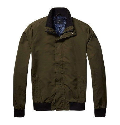 Khaki Classic Harrington Jacket
