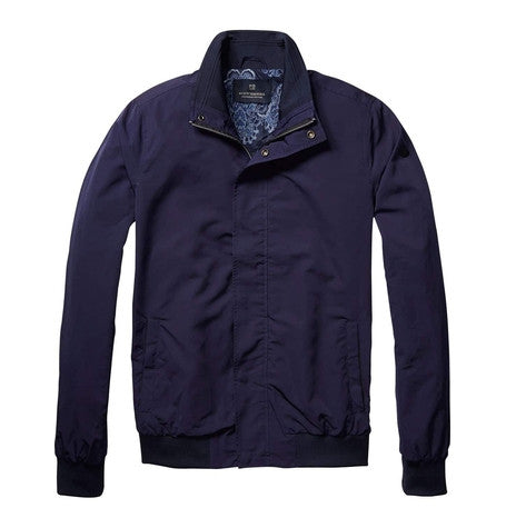 Navy Classic Harrington Jacket