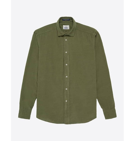 Slim Fit Khaki Shirt