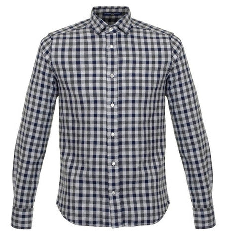 Bradford Herringbone Check Shirt