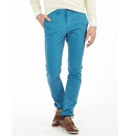 Turquoise Chinos
