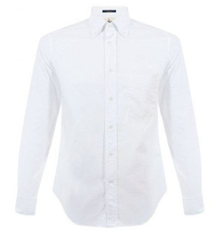 Dexter Plain White Shirt