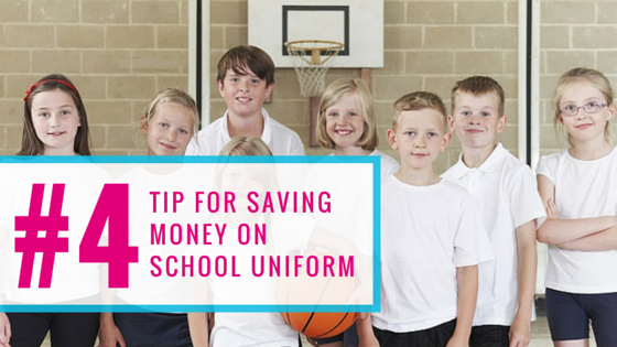 January - Money Saving Tip - Second hand uniform!