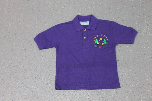 Little Firs Purple Polo