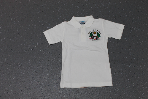 Little Firs White Polo