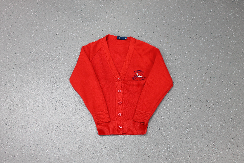 Radipole Red Cardigan