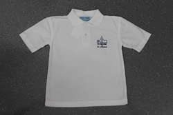 St Nicholas and St Laurence White Polo