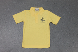 St Nicholas and St Laurence Yellow Polo