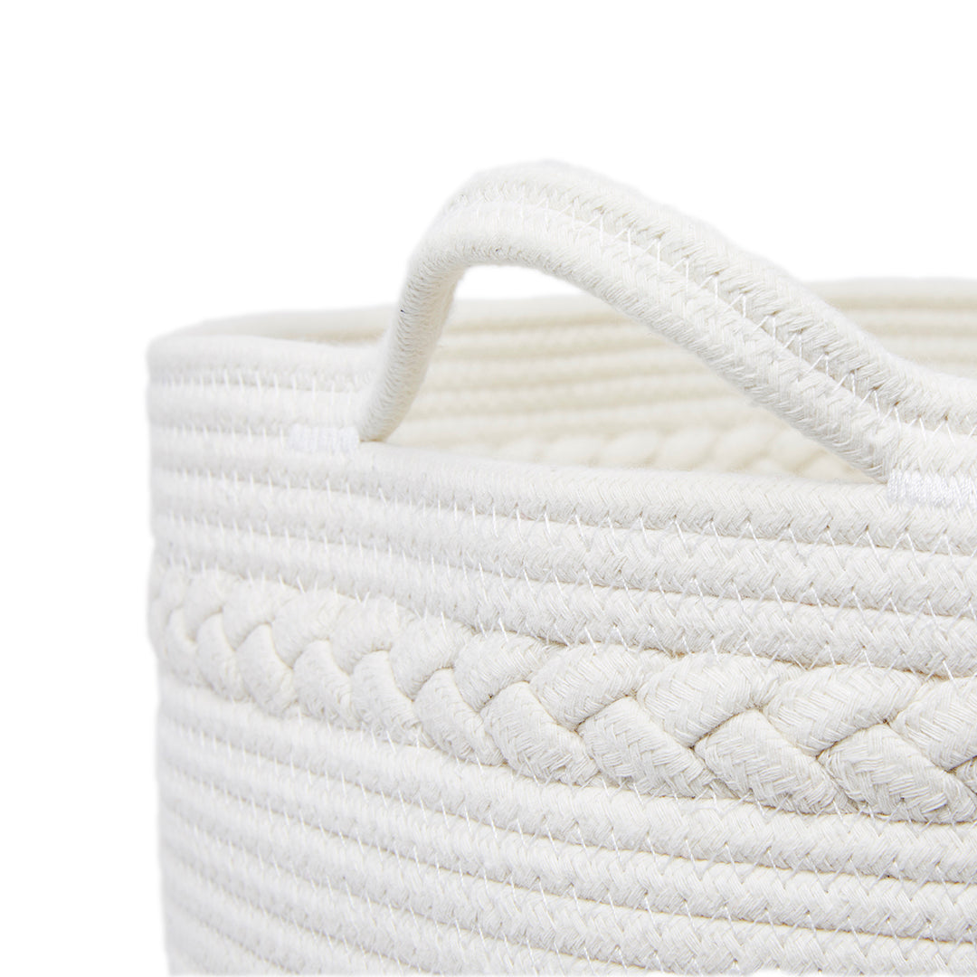 Millstrand Co. Lauderdale Coiled Rope Basket