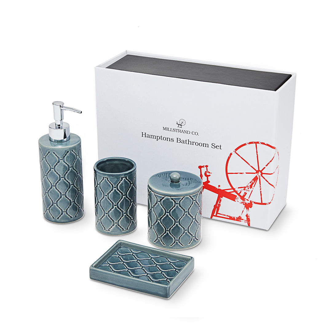 Millstrand Co. Hamptons Bathroom Set