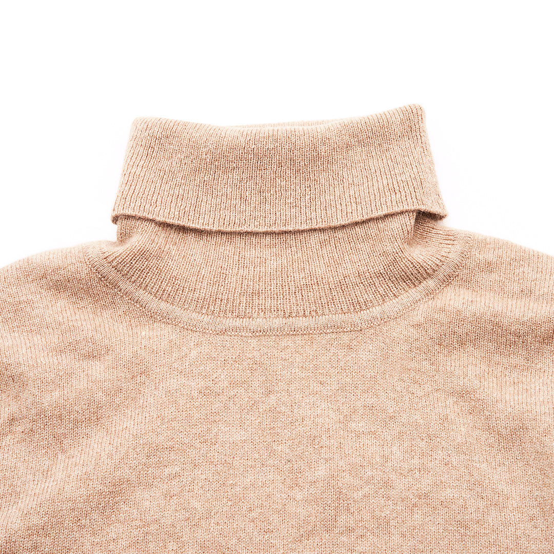 Millstrand Co. Aurora Cashmere Turtleneck in Midi