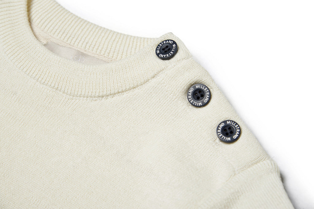 Millstrand Co. Adrie Pullover in Cream & Navy