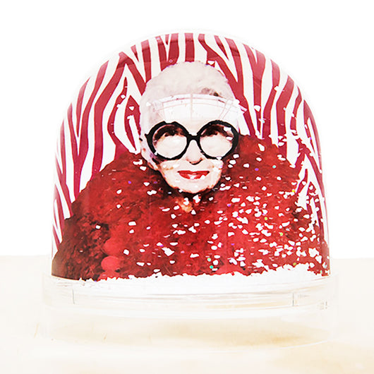 SnowGlobe by Shake it Baby - Iris Apfel