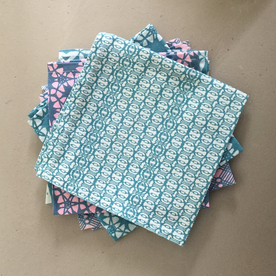 Blue Vessel napkin