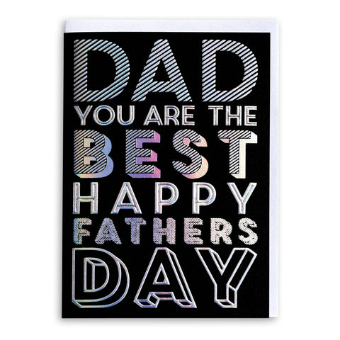 Dad You Are The Best | Greeting Card